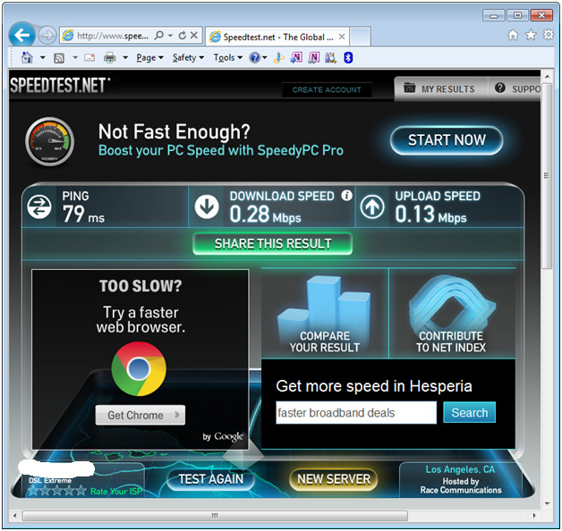 test wifi speed