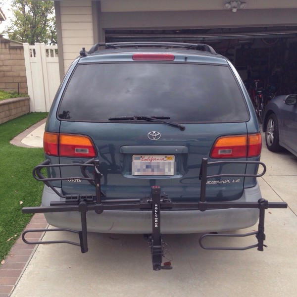 Toyota Sienna Rental: New Trailer Hitch For First Generation Toyota Sienna
